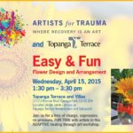Topanga FUN Flower Arranging Workshop